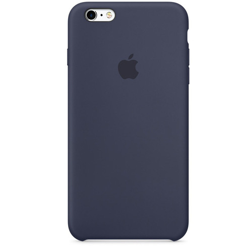 Apple Silicone Case pour iPhone 7 Plus/8 Plus Bleu nuit