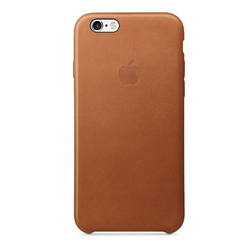Apple Leather Case pour iPhone 7 Plus/8 Plus Havane