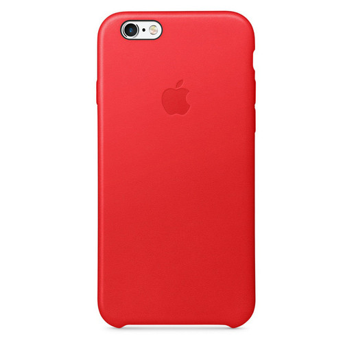 Apple Leather Case pour iPhone 7 Plus/8 Plus (PRODUCT)RED