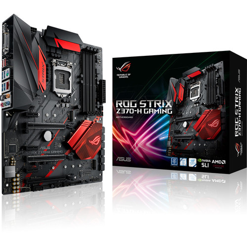 Asus ROG STRIX Z370-H GAMING + Call of Duty: Black Ops 4 Offert !