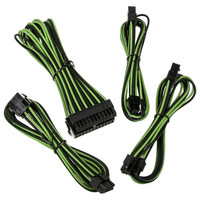 BitFenix Alchemy 2.0 Extension Cable Kit, Noir/Vert