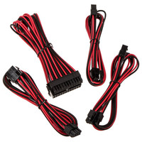 BitFenix Alchemy 2.0 Extension Cable Kit, Noir/Rouge