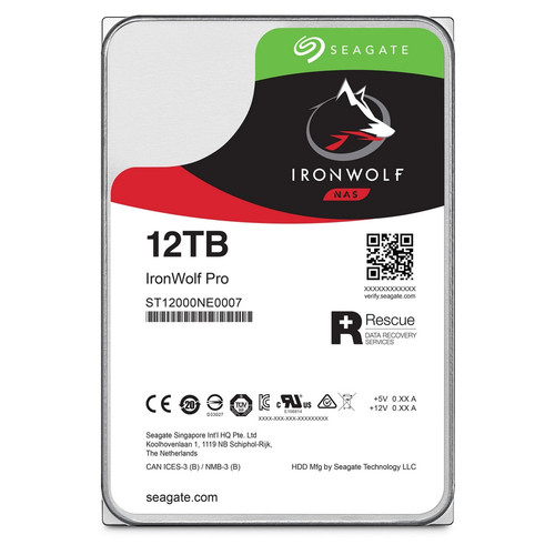 Seagate IronWolf Pro, 12 To