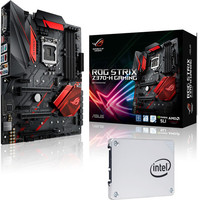 Asus STRIX Z370H GAMING + Intel SSD 540s Series, 120 Go, SATA III