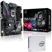 Asus STRIX Z370F GAMING + Intel SSD 540s Series, 120 Go, SATA III