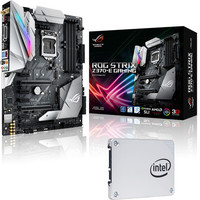 Asus STRIX Z370E GAMING + Intel SSD 540s Series, 120 Go, SATA III