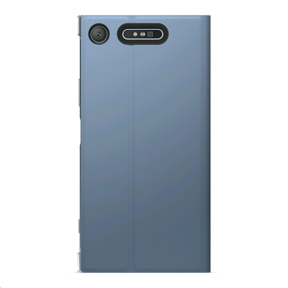 sports shoes a0db6 13fdd Sony Style Cover Stand SCSG50 pour Xperia XZ1 Bleu | Top Achat