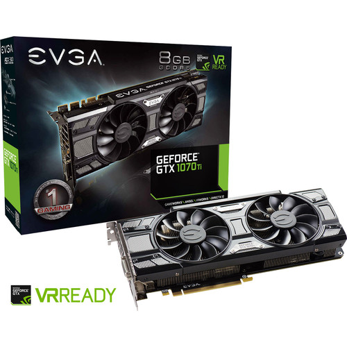 EVGA GeForce GTX 1070 Ti SC GAMING ACX 3.0 Black Edition