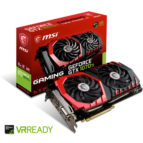 MSI GeForce GTX 1070 Ti GAMING, 8 Go