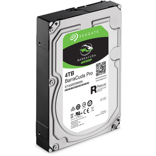 Seagate BarraCuda Pro, 4 To