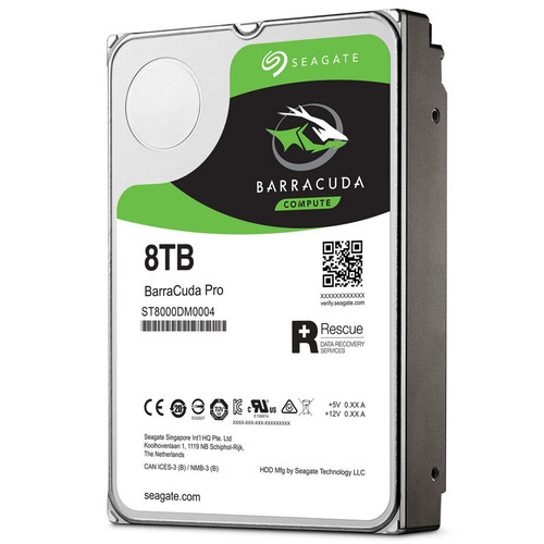 Seagate BarraCuda Pro, 8 To