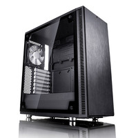 Fractal Design Define C Tempered Glass, Noir