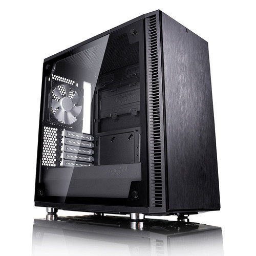 Fractal Design Define Mini C Tempered Glass, Noir