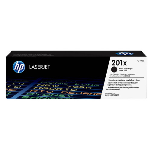 Toner Noir CF400X, 201X, 2800 pages, HP