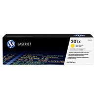 Toner Jaune CF402X, 201X, 2300 pages, HP