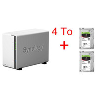 Vente flash exceptionnelle sur Synology DS216j + 2 x Seagate IronWolf, 2 To