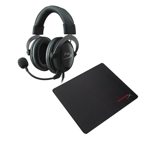 Pack HyperX Cloud II Gun Metal + Fury S Pro L