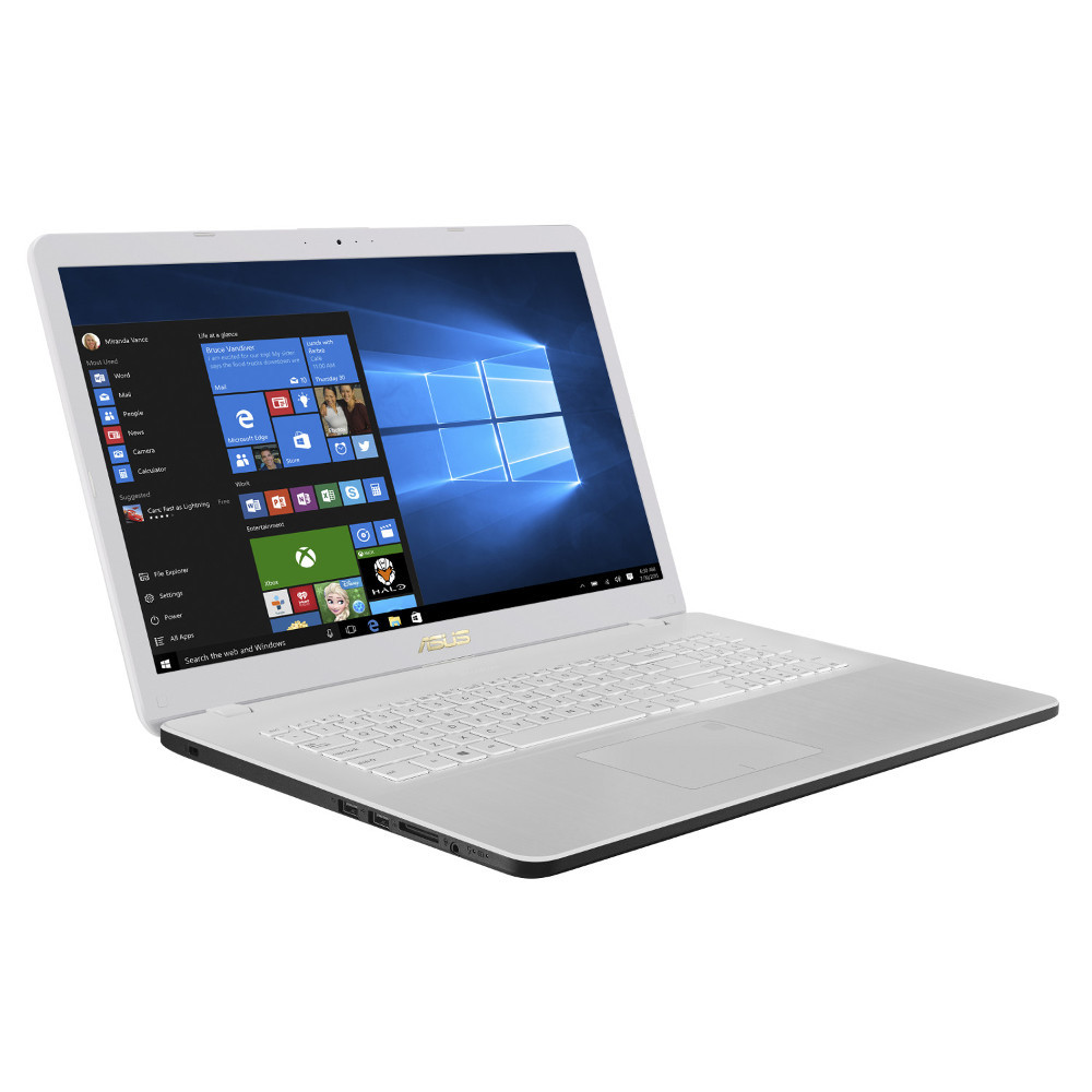 asus vivobook 17 f705ua bx268t blanc achat pas cher avis. Black Bedroom Furniture Sets. Home Design Ideas