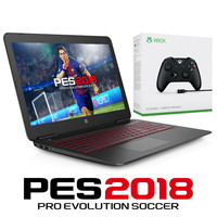 HP Omen 15 (15-AX246NF) + Manette Xbox One + PES 2018