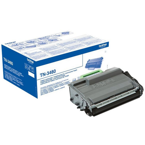 Toner Noir TN-3480, 8000 pages, Brother