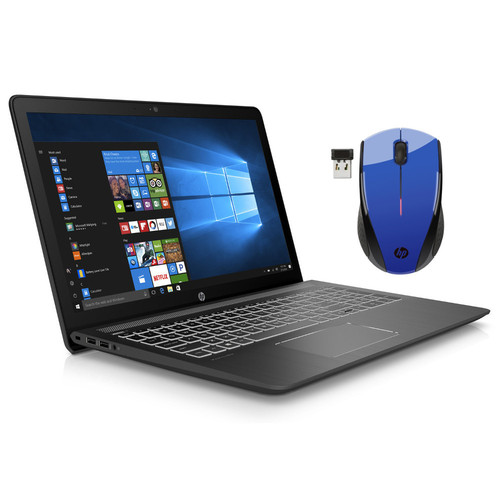HP Pavilion Power 15 (15-CB025NF) + Souris sans fil HP X3000 Bleue