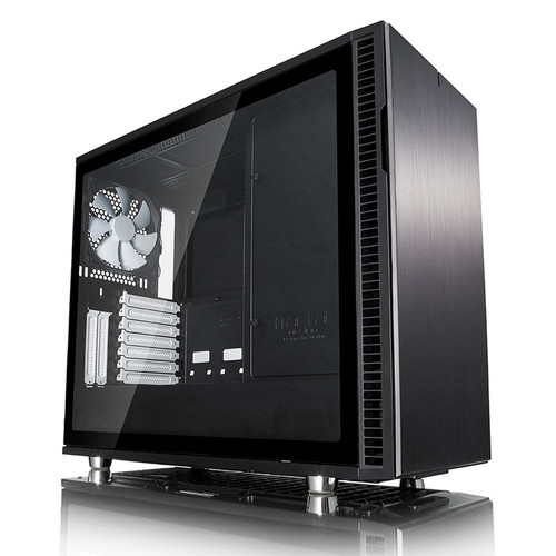 Fractal Design Define R6 Black Tempered Glass - Noir