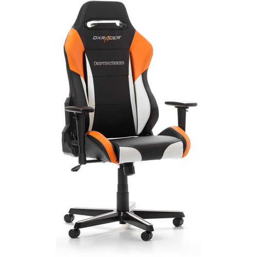 DXRacer Drifting D61 - Noir / Blanc / Orange