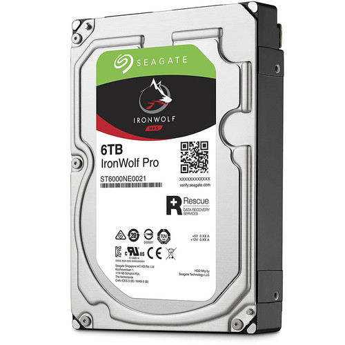 Seagate IronWolf Pro, 6 To