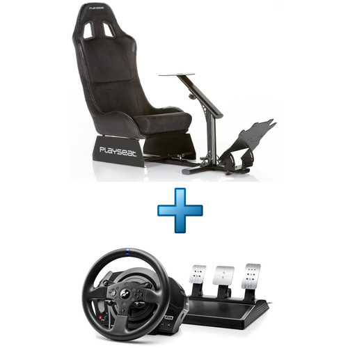 Playseat Alcantara - Noir + Thrustmaster T300 RS GT Edition - PC / PS3 / PS4