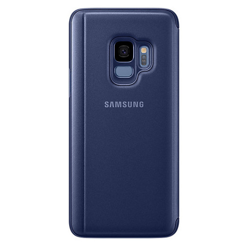 Samsung Clear View Standing Cover pour Galaxy S9 Bleu