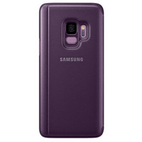 Samsung Clear View Standing Cover pour Galaxy S9 Violet