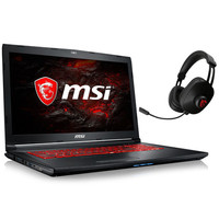 MSI GL72M 7RDX-858FR + MSI Gaming Headset S
