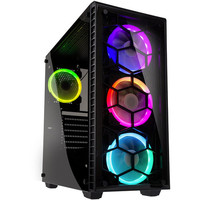 Kolink Observatory RGB Tempered Glass, Noir