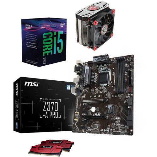 Kit d'évo Core i5-8400 (2.8 GHz) + MSI Z370-A PRO + Core Frozr L + 16 Go