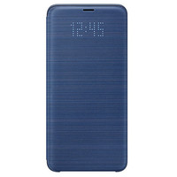 Samsung LED View cover pour Galaxy S9 Bleu