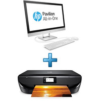 HP All-in-One 24-r033nf (2XB06EA) + HP Envy 5020