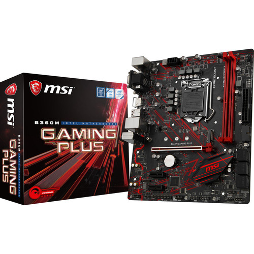 MSI B360M GAMING PLUS