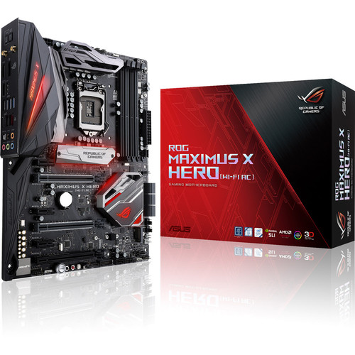 Asus ROG MAXIMUS X HERO WIFI + Call of Duty: Black Ops 4 Offert !