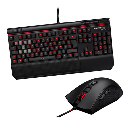 Pack HyperX Alloy Elite (MX Red)(AZERTY) + Pulsefire