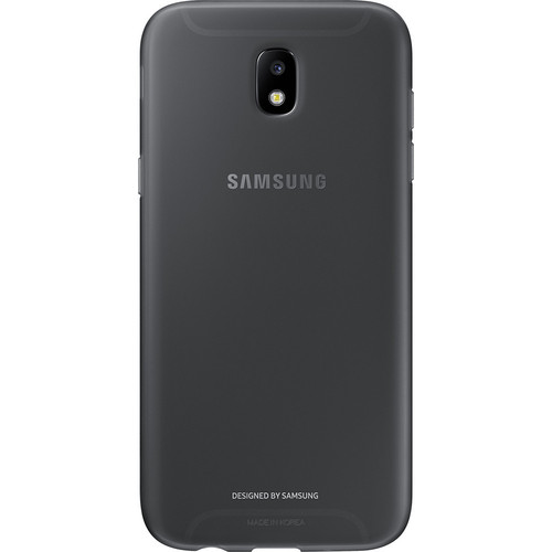 Samsung Jelly Cover pour Galaxy J7 2017 Noir