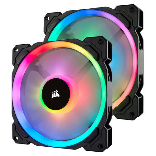 Corsair LL140 RGB Dual Pack, 140 mm