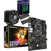 Kit d'�vo Intel Core i5-8600K + Gigabyte Z370P-D3 + Dark Rock 4 + 16 Go