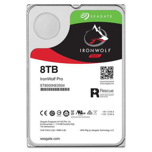 Seagate IronWolf Pro, 8 To