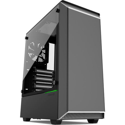 Phanteks Eclipse P300 Tempered Glass, Noir/Blanc