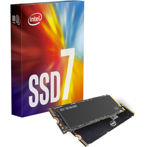 Intel SSD 760P Series, 128 Go, M.2 (Type 2280)