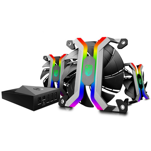 Deepcool MF120 RGB, 120 mm (pack de 3)