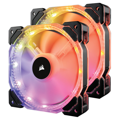 Corsair HD140 RGB, 140 mm (Pack de 2)