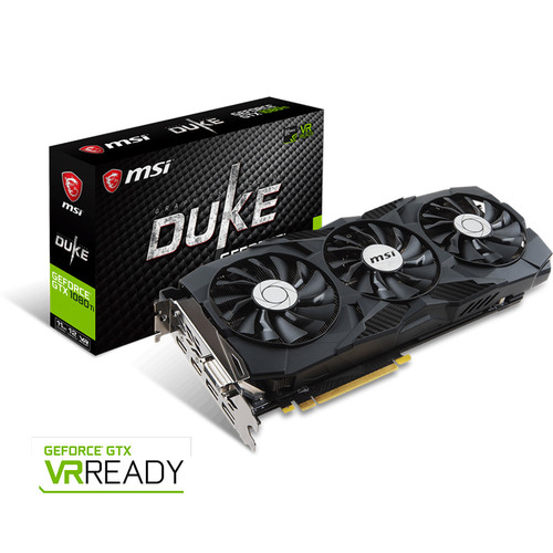 MSI GeForce GTX 1080 Ti DUKE OC, 11 Go