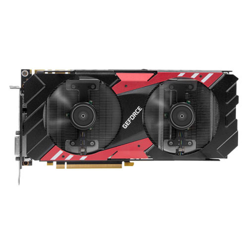 KFA2 GeForce GTX 1070 EX Red Edition, 8 Go