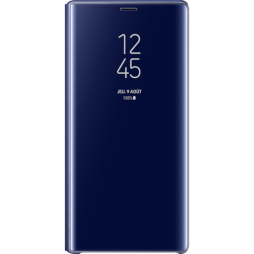 Samsung Clear View Standing Cover Galaxy Note 9 - Bleu